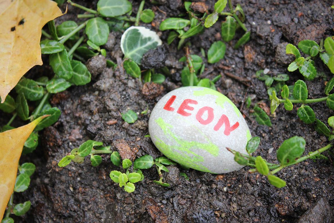 hier ruht Leon